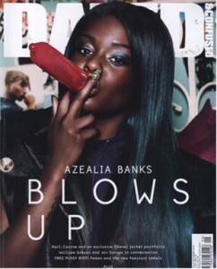 Azealia Banks Dazed and Confused August 2012 Cover