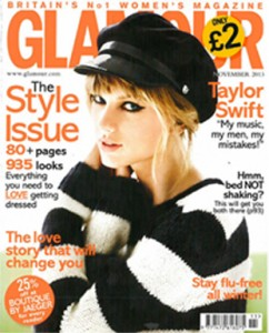 Glamour Taylor Swift Cover