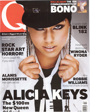 Q cover feature # 1